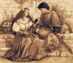 Средневековое благородство мужчин и хорошие манеры