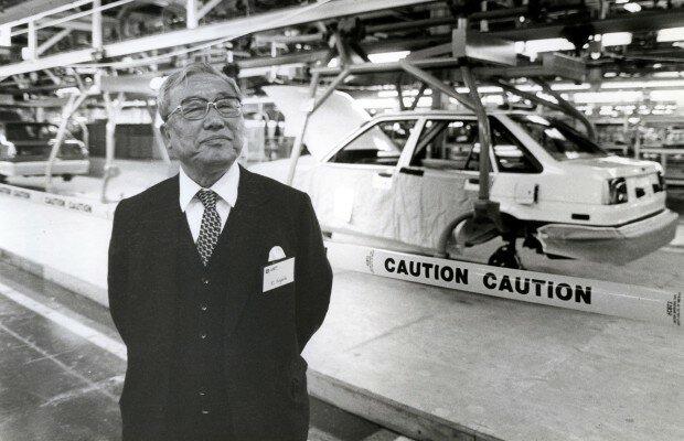 один из основателей корпорации «Toyota Motors» Эйдзи Тойода