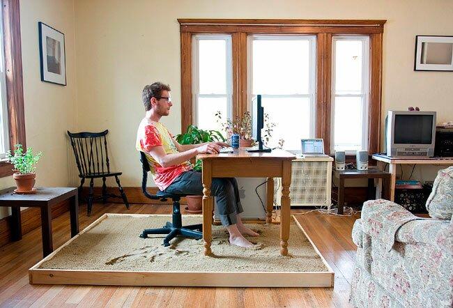 идеи создания домашнего офиса в спальне